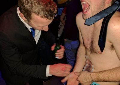 Mooie beelden van de harstraditie tijdens de Kick-Off Party